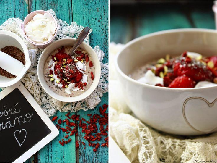 Delicious blog: Lněná kaše