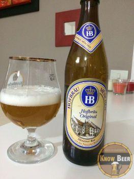 Birra HB Original di provenienza tedesca più precisamente a Monaco di Baviera è di fermentazione bassa e dal malto biondo.