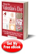 Ideas for Valentines Day: 12 Free Printable Valentines Day Cards and Other Valentines Day Crafts