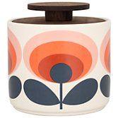 Buy Orla Kiely Red Flower Storage Jar, 1L | John Lewis