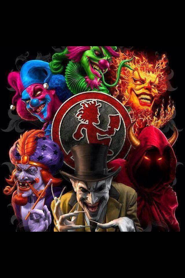 Insane clown posse cards
