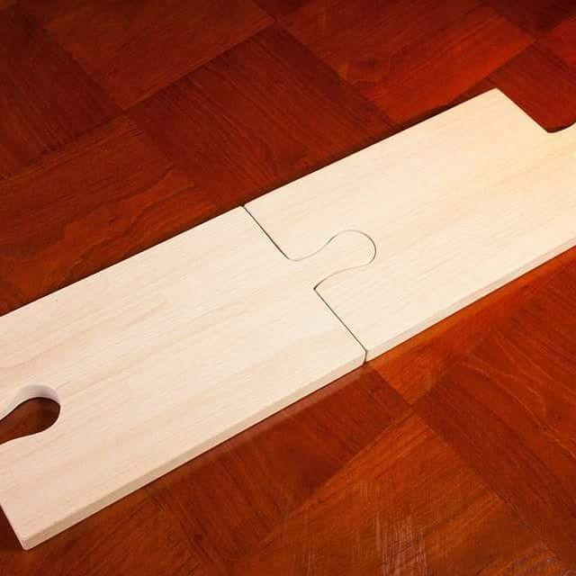 Tagliere puzzle! #legno #artigianato #faggio