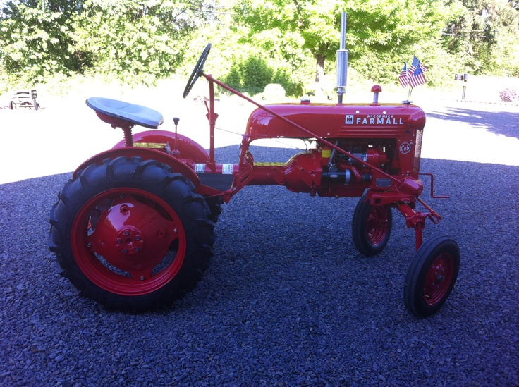 1948 Farmall tractor. Fully restored by my dad. Spring 2013