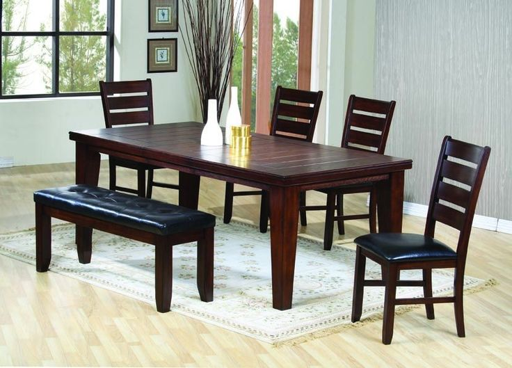 Casual Oak Dining Room Set