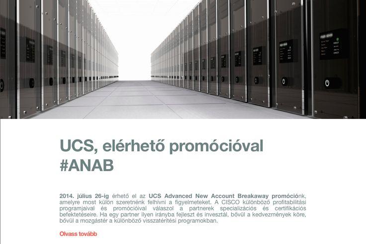 UCS, elérhető promócióval #ANAB #cloudcondition