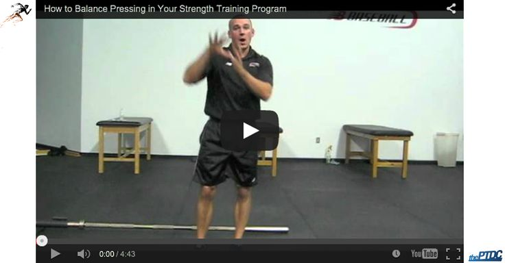 Healthy shoulders aren't just about balancing pushing and pulling. There's another element that you need to consider ... /Eric Cressey
