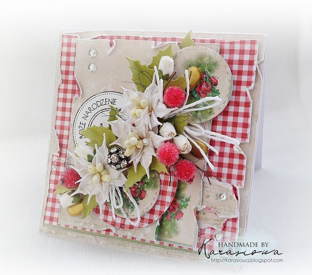 .: Gingham and Flowers - DT The Sisterhood of Crafter...