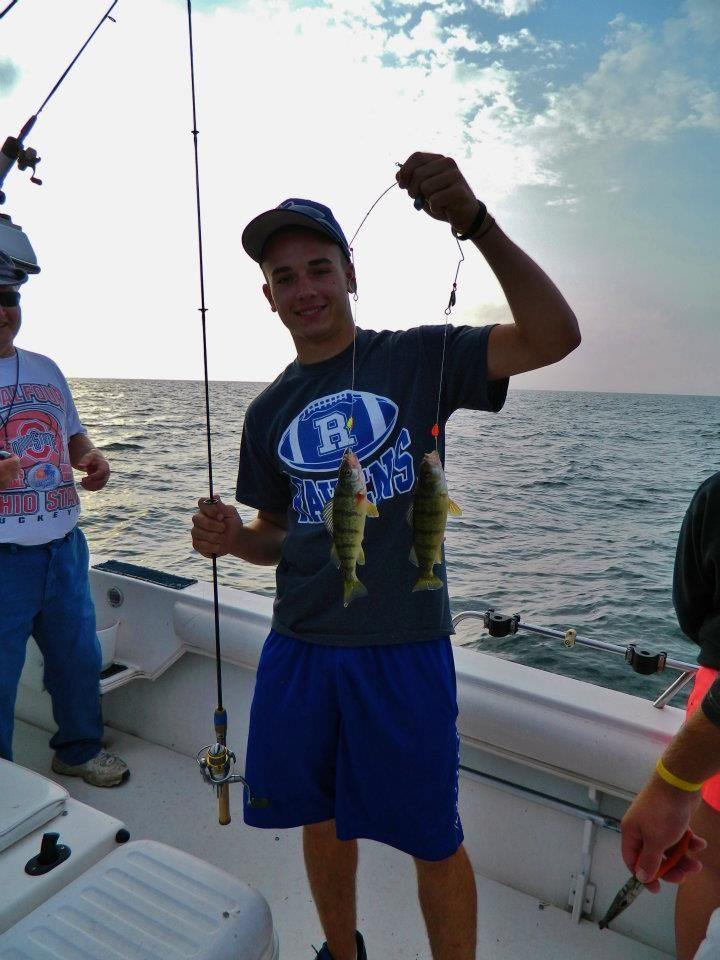 Matt thomas on lake erie lakes and fishing for Port clinton fishing report