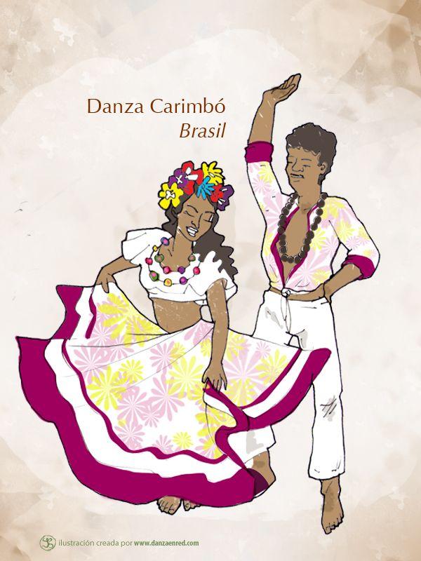 Danza del Carimbó, Brasil: http://danzaenred.com/articulo/la-riqueza-cultural-de-latinoamerica-representada-en-sus-bailes-tradicionales-brasil