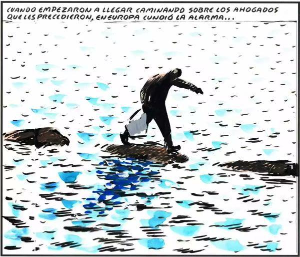 Tremenda viñeta de el roto #refugiados #refugeeswelcome #europa - scoopnest.com