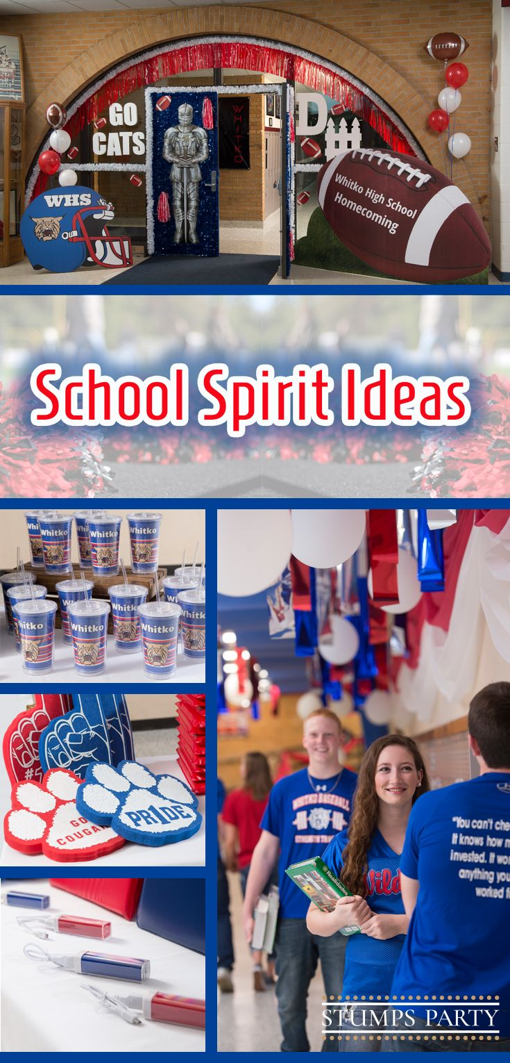 Whip the fans into a frenzy with spirit items! Shop all of our school spirit supplies to make sure you're game day ready!