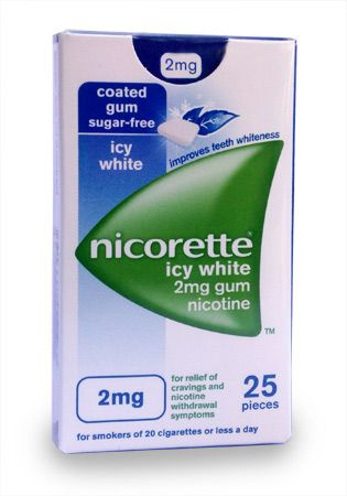 Nicorette Icy White 2mg Nicotine Gum 25 pieces Nicorette Icy White 2mg Nicotine Gum 25 pieces: Express Chemist offer fast delivery and friendly, reliable service. Buy Nicorette Icy White 2mg Nicotine Gum 25 pieces online from Express Chemist today http://www.MightGet.com/january-2017-11/nicorette-icy-white-2mg-nicotine-gum-25-pieces.asp