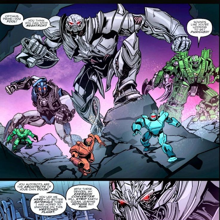 We got a few images of Onslaught, Megatron & Barricade in this small comic book. Even a battle between Optimus Prime Vs Megatron! Download this comic from my story! ---------------------------------------------------------------------------------- #transformers5 #transformersthelastknight #transformers #megatron #optimusprime #TF5 #onslaught #comic #IDW #TF #barricade #hound #bumblebee