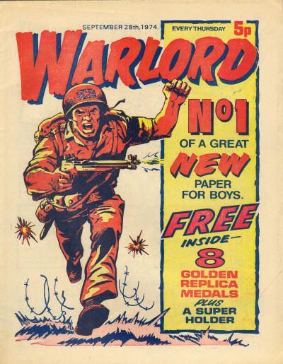 Warlord First Issue