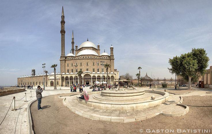 Mohamed Ali's Mosque , Citadel from Salah Eddine EI Ayyoubi (Saladin), Cairo, Egypt.   par Gaston Batistini