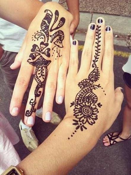 Henna Tattoo Designs For Love: Love This Henna Design