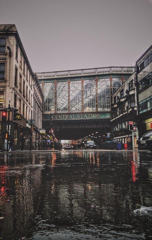 Argyle Street last week : glasgow
