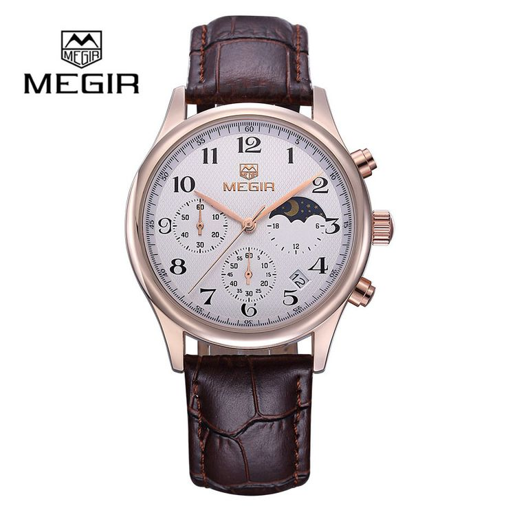 Mens Watches Brand Luxury Fashion Leather Quartz Watch Waterproof Wristwatch Men Relogios Masculinos