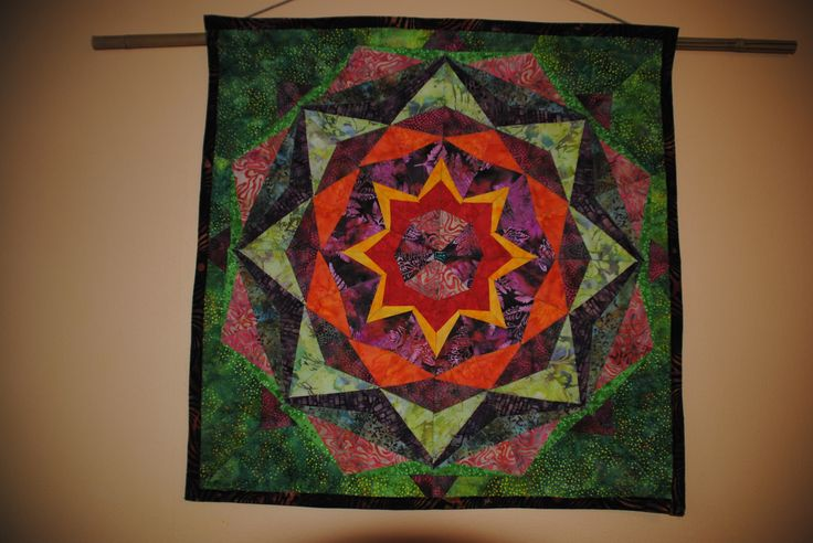 "Wall Quilt ""Mandala"""