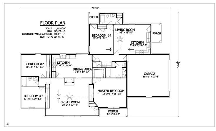 8 best floor plans the fairchild images on pinterest for Extended family house plans