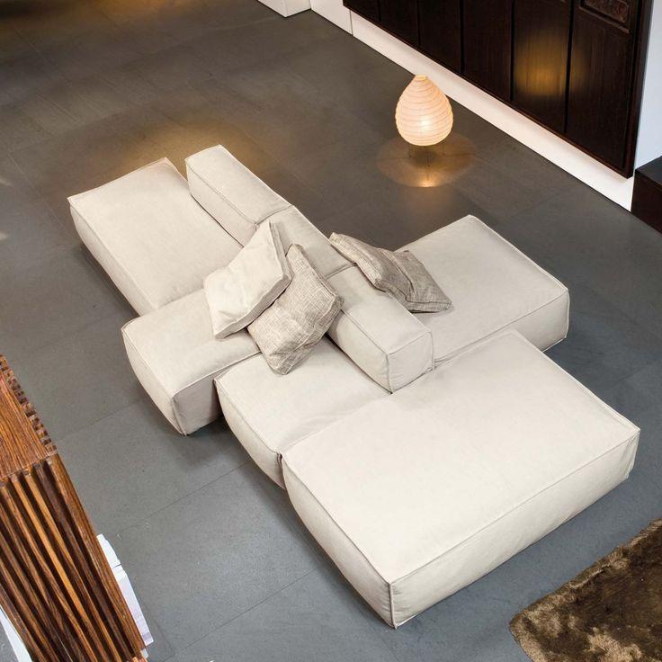Canapé modulable de design Peanut B – ARREDACLICK…