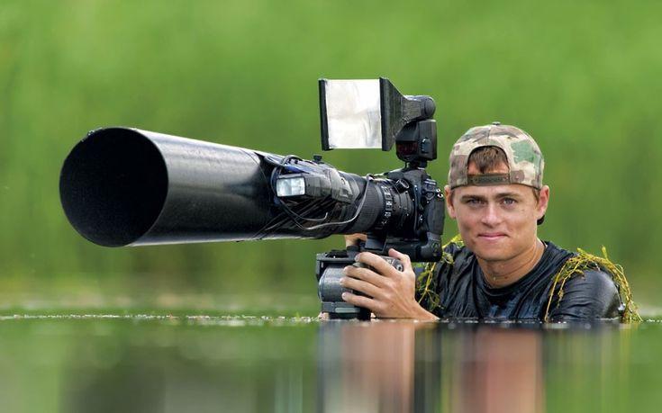 "Bence Máté, the Hungarian ""invisible wildlife photographer"""