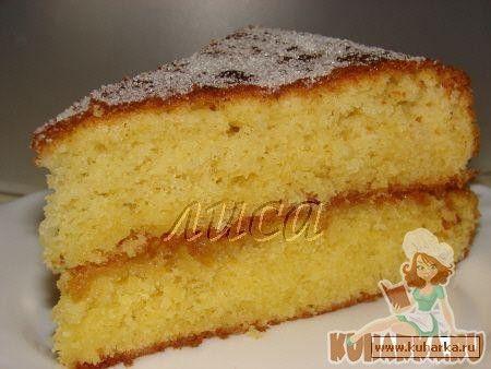 Рецепт: Воскресный пирог