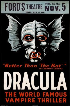Dracula theatre poster