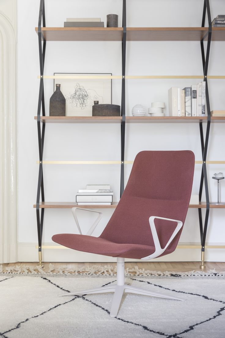 slim lounge chair by PearsonLloyd -> for home or office  #alias #aliasdesign #aliasathome #aliasatwork #aliasmood