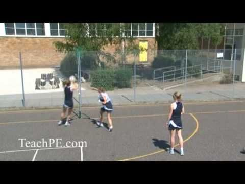 Netball Drill - Shooting - Free for Ball - The Cut Back
