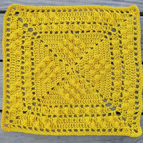 Crochet Sheldon Sq'd Granny Square + Tutorial | Granny Squares