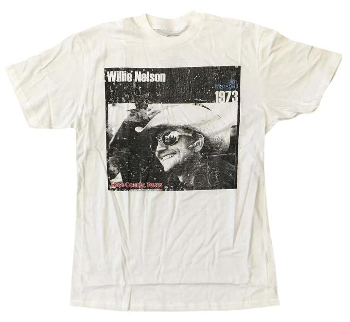 Willie Nelson Cowboy T Shirt White. Free shipping and guaranteed authenticity on Willie Nelson Cowboy T Shirt WhiteOfficially licensed Willie Nelson t-shirt featurin...