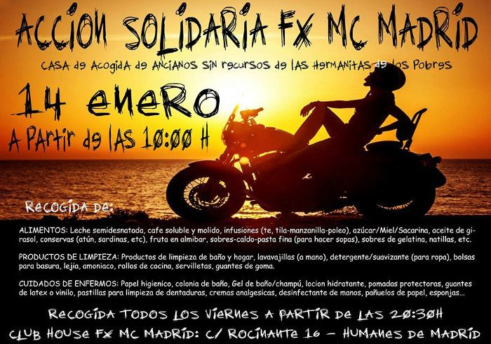 Accion Solidaria Fx Madrid En Humanes De Madrid Madrid Accion