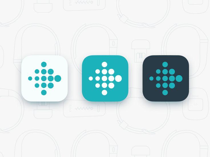 Fitbit App Icon Update by Jason Zigrino