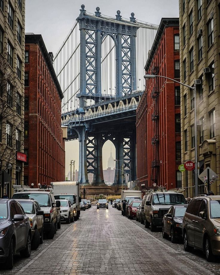 Washington Street, DUMBO, Brooklyn by bridget_pz via @abc7ny