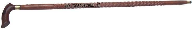 Wooden Walking Stick WWS-93 Rana Overseas leading Manufacturer, Supplier and Exporter of Wooden Walking Sticks, We are offering the best quality Wooden Walking Sticks with brass fitted well wooden polished. These sticks are beautifully crafted with intricate designs meant to carry while walking. Top quality wood is used to make these sticks more strong.Size available is 35″ Inches to 37″ Inches, offering wide assortment of Walking Wooden Stick.