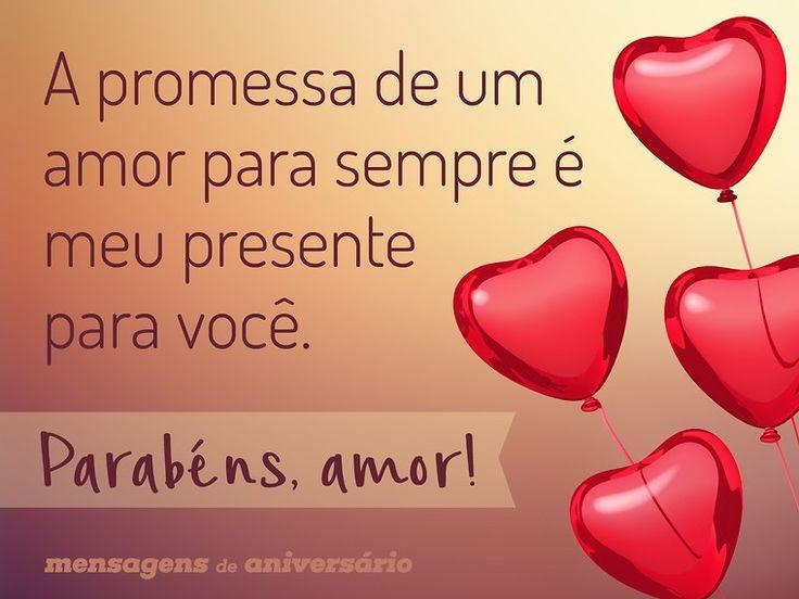 A promessa de um amor para sempre é meu presente para você. Parabéns, amor! (...) https://www.mensagemaniversario.com.br/uma-promessa-para-o-aniversario/