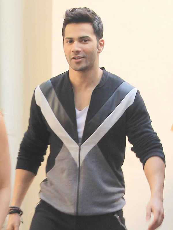 Varun Dhawan at Mehboob Studio