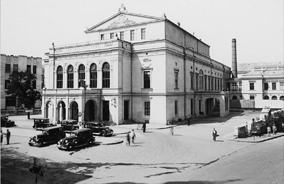 poze desktop Poze vechi Bucuresti, teatru National, 1924