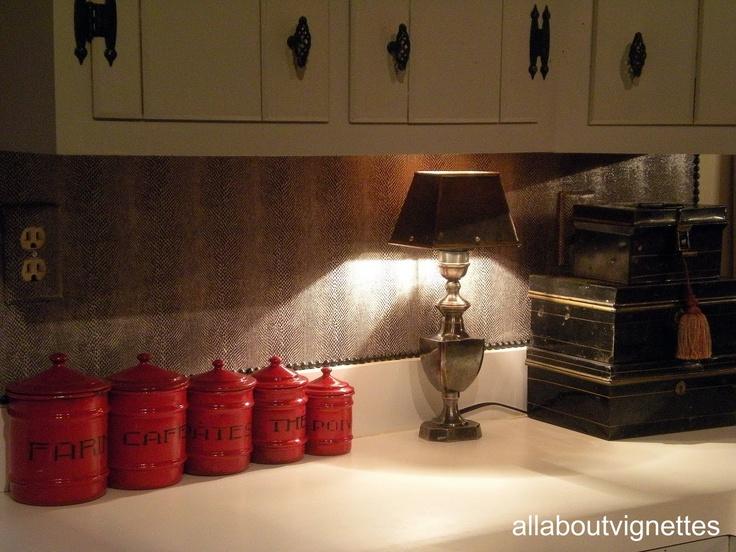 Snakeskin Backsplash Easy And Durable For The Home