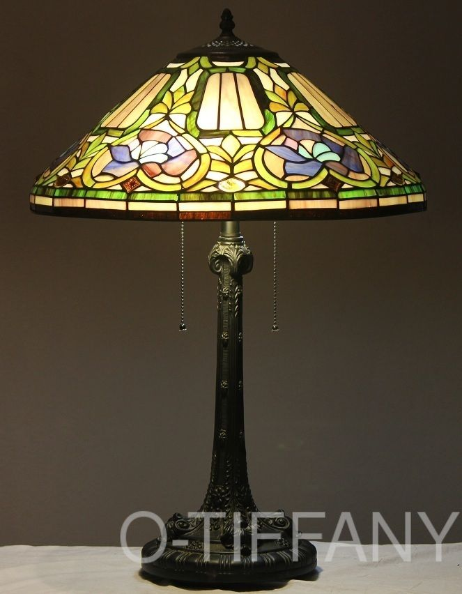 211 Best Stained Glass Lampshades Images On Pinterest Stained