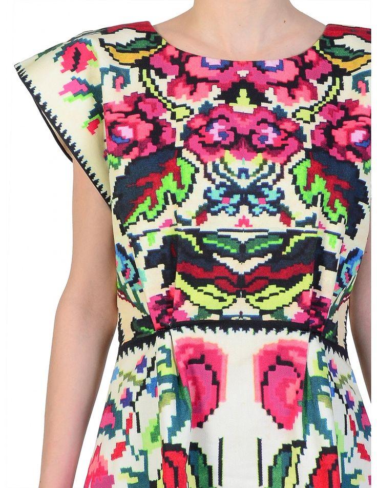 Lana Dumitru Etno Dress — Bora Bohème