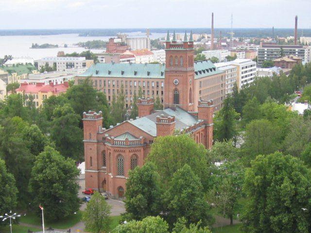 Vaasa, Finland  Vaasa Trinity Church