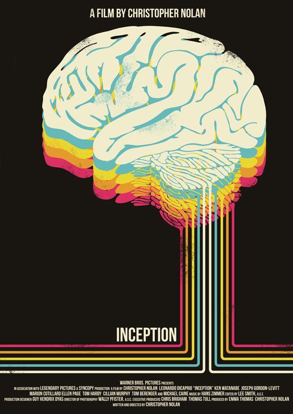 Inception-Christopher Nolan collection by Dan Sherratt