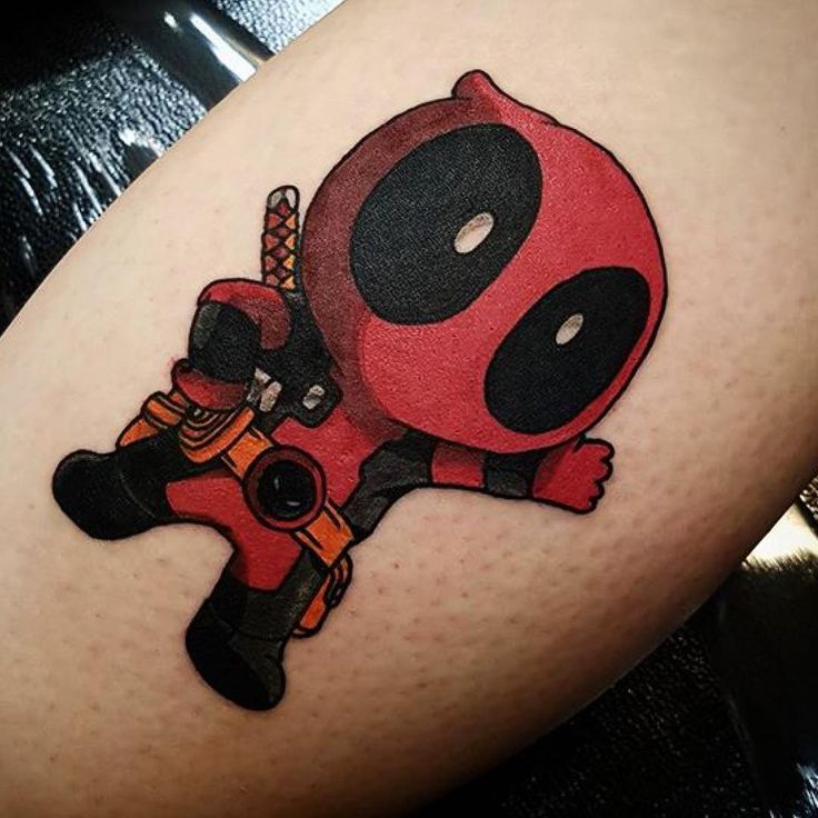45 Dashing Deadpool Tattoo Designs - Redefining Deadpool with Ink Check more at http://tattoo-journal.com/best-deadpool-tattoo-designs-meaning/