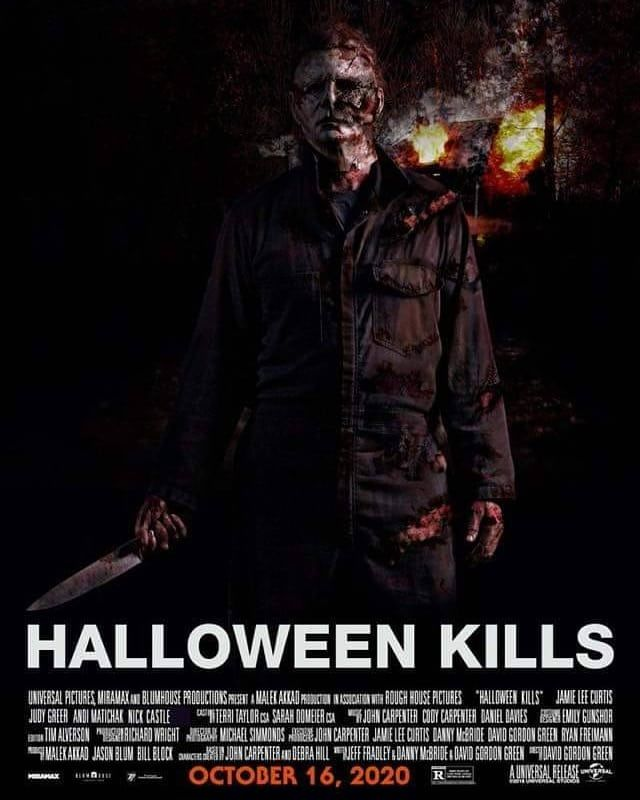 """Jamie Lee Curtis Halloween 2020 Poster Brandon England on Instagram: """"Can't get enough of these images of"""