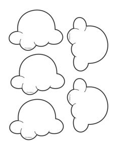 Popcorn Kernel Coloring Page                                                                                                                                                                                 More