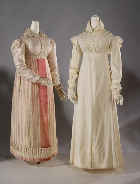 gowns from Persuasion: Fashion in the Age of Jane Austen - National Gallery of Victoria, Australia