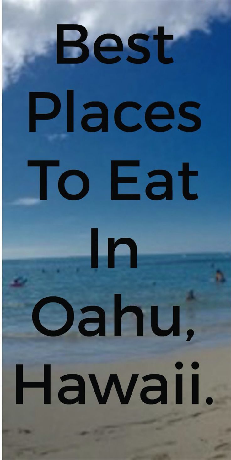In this travel guide about Hawaii, you will read about where the best places are to eat in Oahu, where to stay and also what activities to do! For everything you need to know about Oahu, Hawaii - read more here: http://borntobealive.blog/welcome/destinations/hawaii/ #hawaii #oahu #blog #blogger #eat #dine #accommodation #activities #beach #ocean
