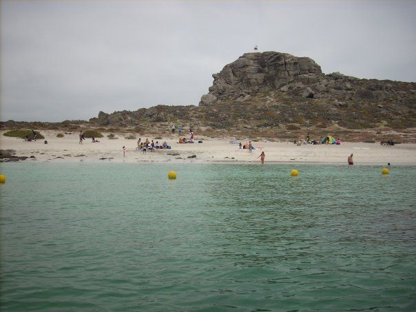 Isla Damas - Chile (photo taken by my)